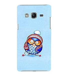 EPICCASE Curious owl Mobile Back Case Cover For Samsung Tizen Z3 (Designer Case)