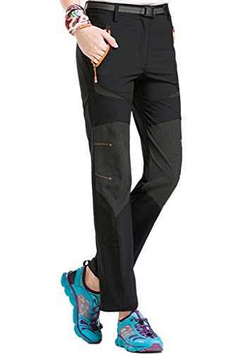 Lovache Wanderhose Damen Sommer Stretch Trekkinghose Schnelltrocknende Outdoor Sport Hosen Lang