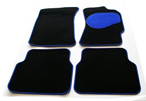 black-carpet-car-floor-mats-with-blue-heel-pad-trim-tailored-to-fit-ford-lincoln-town-car