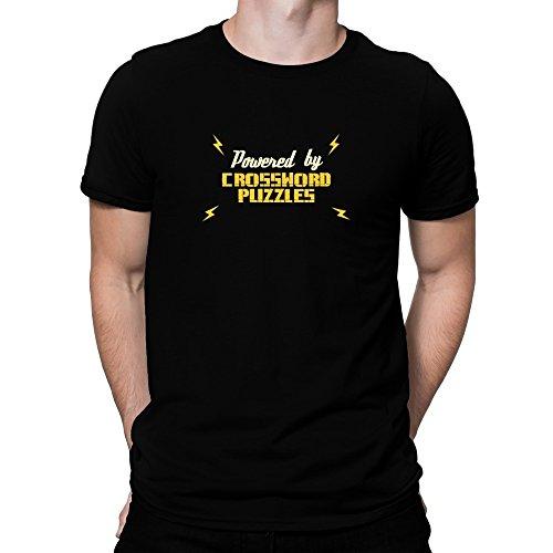 Teeburon POWERED BY Crossword Puzzles Camiseta