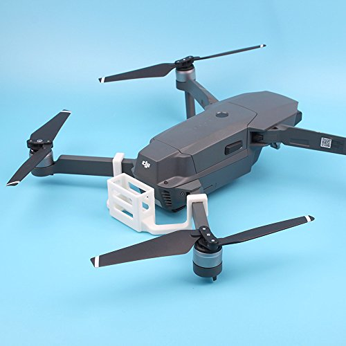 Flycoo 3D Printed RF-V16 GPS Tracker Tracer Locator Bracket Mount Holder Halter Halterung Support for DJI Mavic Pro Gps-pro Mount