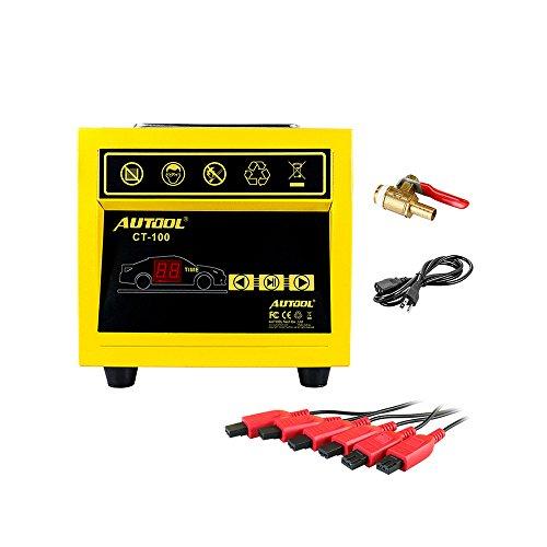 Preisvergleich Produktbild topqsc CT-100Mini-Kraftstoff Injektor-Reiniger Auto Motorrad Auto Ultraschall-Maschine Injektor Reinigung