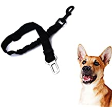 su ma Dog Safety Belt for Car, Professional Carabiner and Elastic Shock Absorption for
