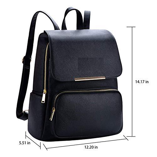 Diving Deep Black Casual Backpack for Stylish Girls Shoulder College/School Bag Image 2