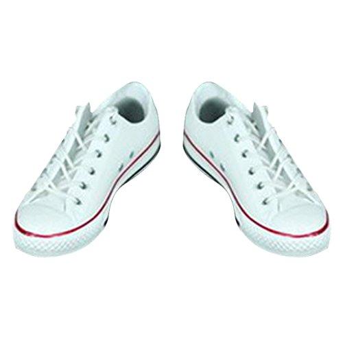 schuhe Schuhe Turnschuhe Zubehör Für 12 inch Actionfiguren - Weiß ()