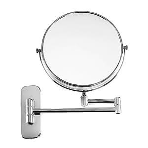 Songmics bbm713 miroir de maquillage grossissement 7x for Miroir de la musique