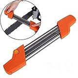 Tensay 2 in 1 Schärfeinheit Sägekettenschärfwerkzeug Schleifscheibe Schärfgerät für Sägeketten Kettensäge Kettenschneider für Bohrer Messer Schere Holzmeißel Hobeleisen