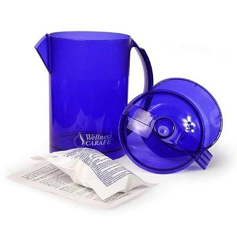 Wellness Water Filters - Carafe Water Jug Starter Kit (includes 1 cartridge)