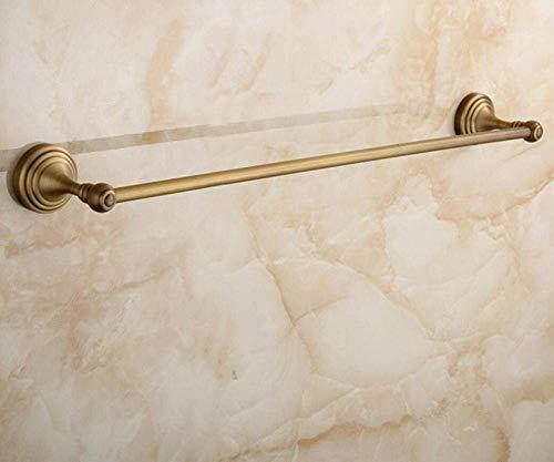 AOLI Bad im Landhausstil im europäischen Stil Alle ehemaligen Anhänger Bronze beheizt Handtuchhalter, Haare-Single Handtücher Retro, Bad Single Pole
