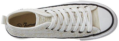 Fiorucci Damen Fepa001 Sneaker Weiß (BIANCO)