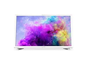 Philips 24PFT5603/05 24-Inch Full HD LED TV with Freeview HD - White (2018 Model)