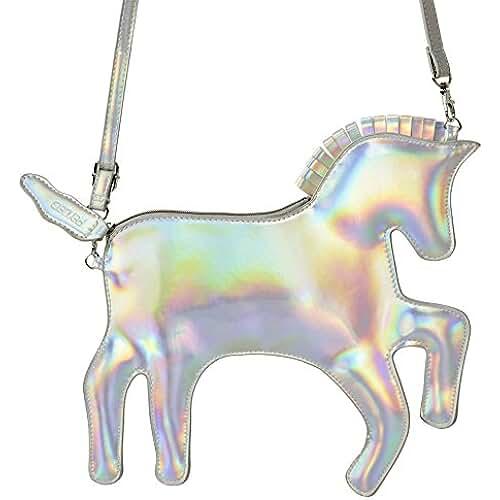 unicornios kawaii Pardao Bolsa de Mano de Unicornio – El Mejor Regalo para Niñas – Bolsa de Mano y Hombro Formal e Informal