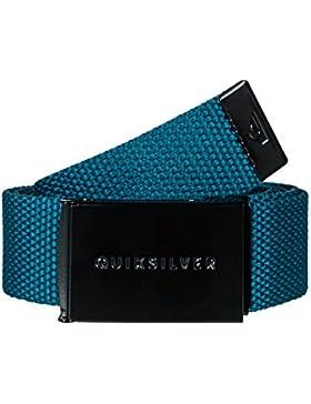 Quiksilver Principle III Cinturón, Hombre, Azul (Alpine), (Tamaño del Fabricante:One Size)