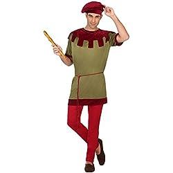 Atosa Disfraz juglar medieval, M-L (38639)