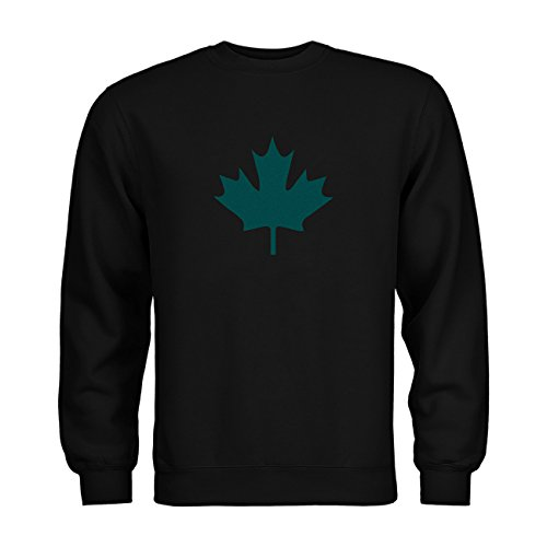 nder Sweatshirt Kanada Ahorn 20drpt15-ks00033-80 Textil black / Motiv tuerkis Gr. 152/164 (80 Kostüme Für Kanada)