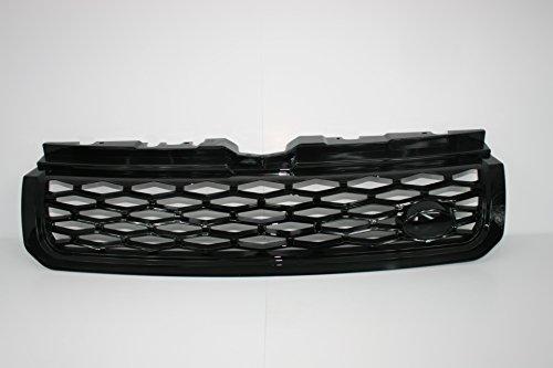 Zunsport Kompatibel mit Range Rover Evoque, SVR-Grill, schwarz glänzend (2011-2018)