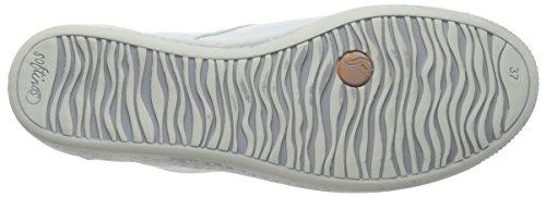 Softinos Indira Damen Kurzschaft Stiefel Weiß