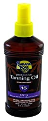 Banana Boat Spf#15 Protective Tanning Oil Spray Sunscreen 235 Ml