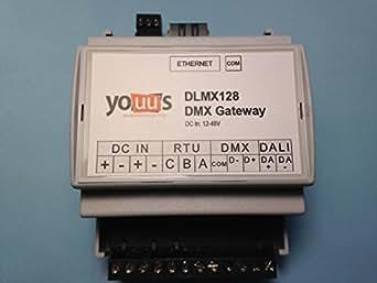 Youus DMX - DALI gateway for Bticino MyHome - Vantage