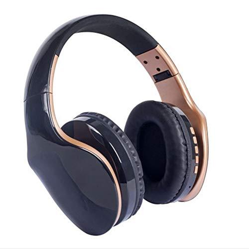 YZMYM Drahtlose Bluetooth Kopfhörer Noise Cancelling Headset Faltbare Stereo Bass Sound Einstellbare Kopfhörer Mit Mikrofon Für PC Alle TelefonSchwarz - Sound Id Bluetooth