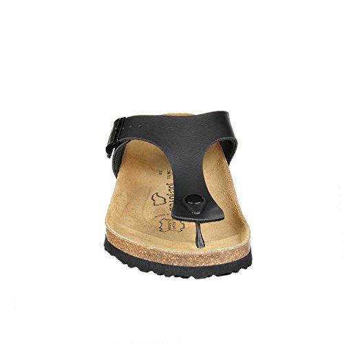 JOE n JOYCE Rio Synsoft. Elegante sandalo da donna proveniente dalla Spagna Black