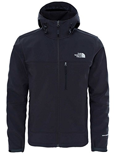 The North Face Herren Apex Bionic Hoody Lifestyle, Tnf Black, L (North Face Softshell Jacke)