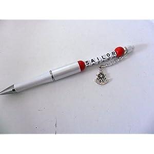 Kugelschreiber mit Perlen / Sailor