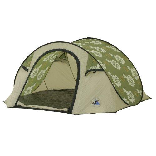 10T Campingzelt Flowerpop 3 Pop-Up Wurfzelt wasserdichtes 3 personen Outdoor Automatik Zelt