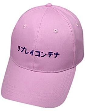 Casquillos,KEERADS Gorra de béisbol del algodón de la letra del bordado Sombreros de Hip Hop del Snapback
