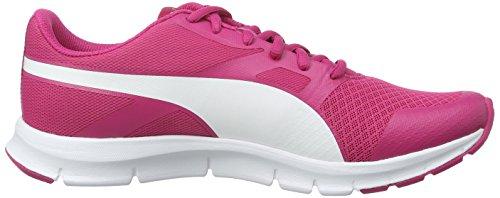 Puma Unisex-Kinder Flexracer Low-Top Pink (Beetroot Purple-puma White 02)