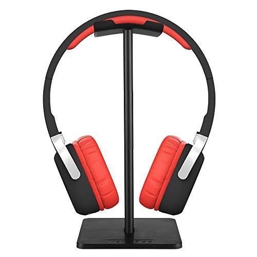 Newbee Universal-Kopfhörerhalter bewegliche Kopfhörer-Standplatz TPU Material Kopfhörer Display Rack Schwarz Home Exhibition Center Store Verwendung.