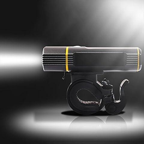 115g Ultra Light Weight -Bike Lights USB Rechargeable LED Bicycle Light Set SHHE 5 Modes Front Bike Light 1100LM Phares anti-poussière étanches avec feu arrière gratuit