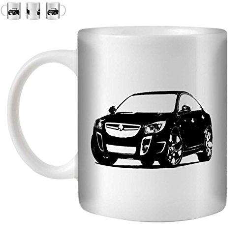 Stuff4 Tee/Kaffee Becher 350ml/Schwarz/Insignia VXR/OPC/Weißkeramik/ST10