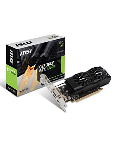 MSI GeForce GTX 1050ti 4GT LP 4GB GDDR5128bit DP DVI HDMI PCI Express x163.0LP attivo