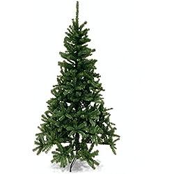 Galileo Casa Árbol de Navidad de 180cm de altura, en verde oscuro, de plástico y metal