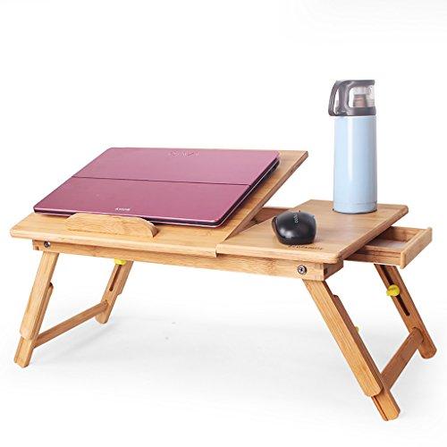 SPZDZ Laptop Schreibtisch Einfaches Bett Schreibtisch Faltbare Faul Tisch Aufzug Schlafsaal Student Mini-Tisch (Farbe : D)