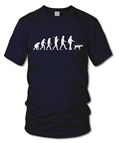 shirtloge - EVOLUTION GASSI - KULT - Fun T-Shirt - in verschiedenen Farben - Größe S - XXL Navy