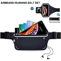 Cobiz Cinturón Riñonera & Brazalete Impermeable Deportivo Para Correr O Deportes Al Aire Libre