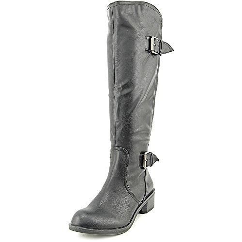 Style & Co Derbey Wide Calf Femmes Synthétique Botte Blk
