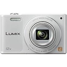 """Panasonic DMC-SZ10 - Cámara digital de 16 Mp (pantalla de 2.7"""", estabilizador de imagen, zoom digital 4x, zoom óptico 12x, WiFi), blanco"""