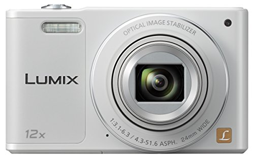 Panasonic Lumix DMC-SZ10EG-W Fotocamera, 16MP, Optical Zoom 12x, Stabilizzatore O.I.S, Wi-Fi Certified, Video HD, Bianco