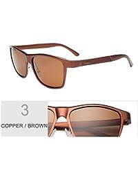 TIANLIANG04 Alluminio-Magnesio Sonnenbrille Für Männer Polarized Fishing Guide Von Sonnenbrillen Von Hoher Qualität, Schwarz Grau