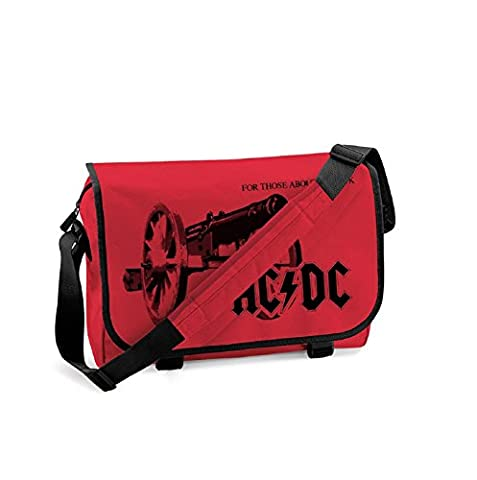 AC/DC For Those About To Rock Official New Red Messenger Bag