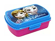 Disney Frozen FR18001 Portapranzo, Portamerenda, Pvc, Bambina, Elsa, Anna