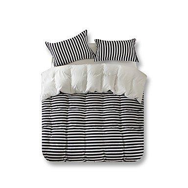 WYFC Neuartig Bettbezug-Sets 4 Stück Polyester Zeitgenössisch Reaktivdruck Polyester Einzelbett ca. 1.50 m breites Doppelbett4-teilig (1 . twin - Zeitgenössischer Polyester