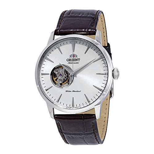 Orient Open Heart Automatic White Dial Mens Watch FAG02005W0