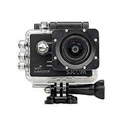 Mobilegear SJCAM SJ5000 X Elite With Gyro Anti-Shake 4K HD Waterproof Digital Action Camera & Sports Camcorder With Accessories