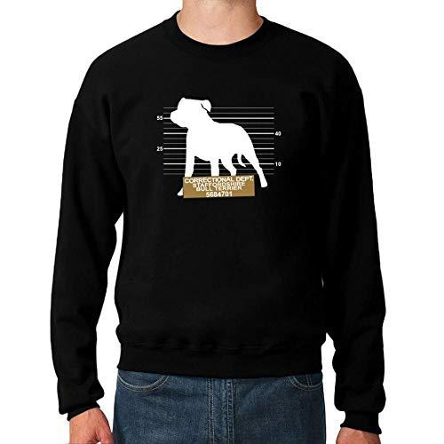 Idakoos Correctional DEPT Staffordshire Bull Terrier Sweatshirt M Bull Terrier Sweatshirt