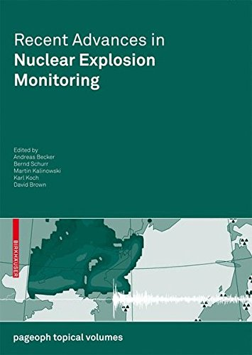 Recent Advances in Nuclear Explosion Monitoring (Pageoph Topical Volumes)