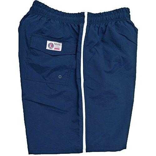 D555 achillée millefeuille- Entier Short De Baignade taille 2XL pour 8XL, 5 Couleurs Options Bleu Marine